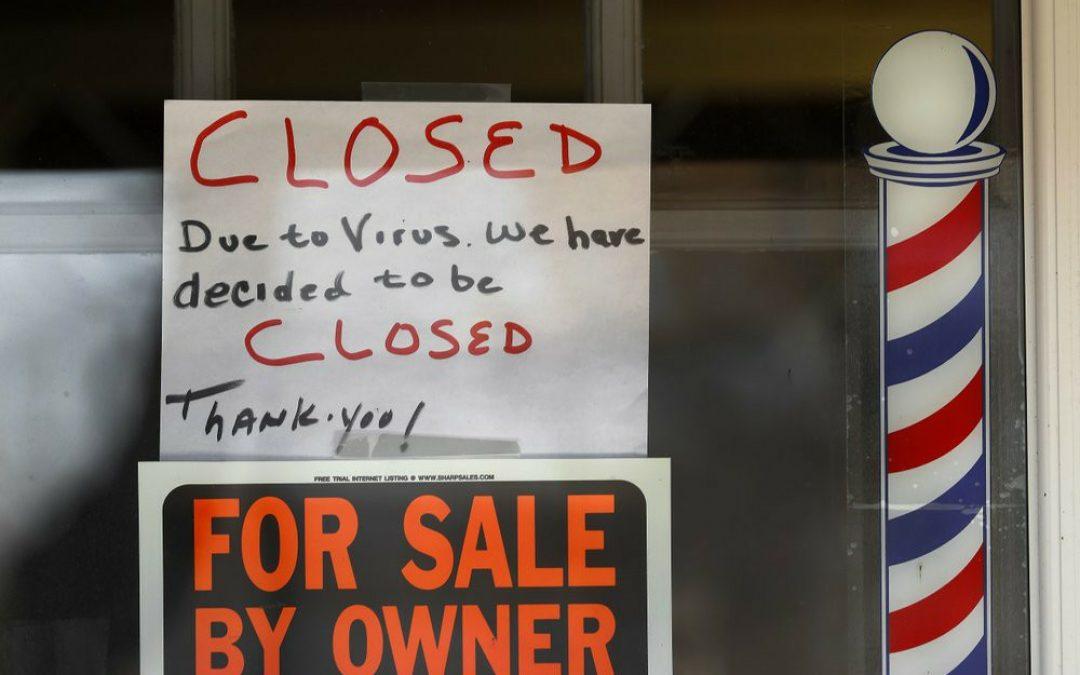 Prevén avalancha de quiebras de pequeñas empresas en EEUU