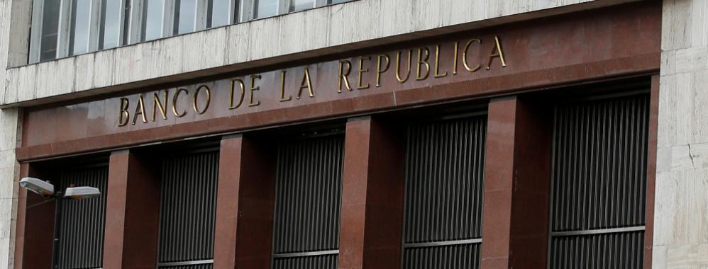 Banco Central de Colombia considera bajar su tasa de interés