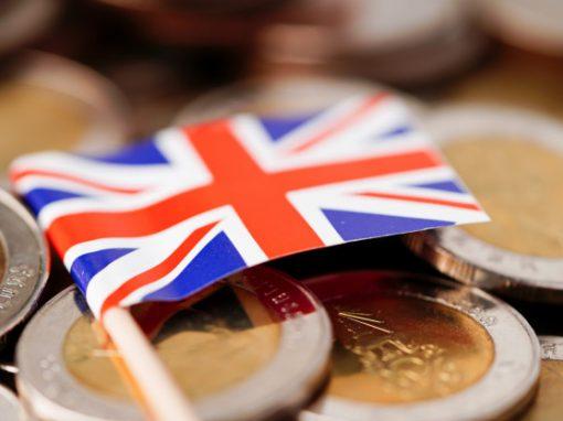 La inflación en el Reino Unido alcanzó la tasa más alta en casi tres años