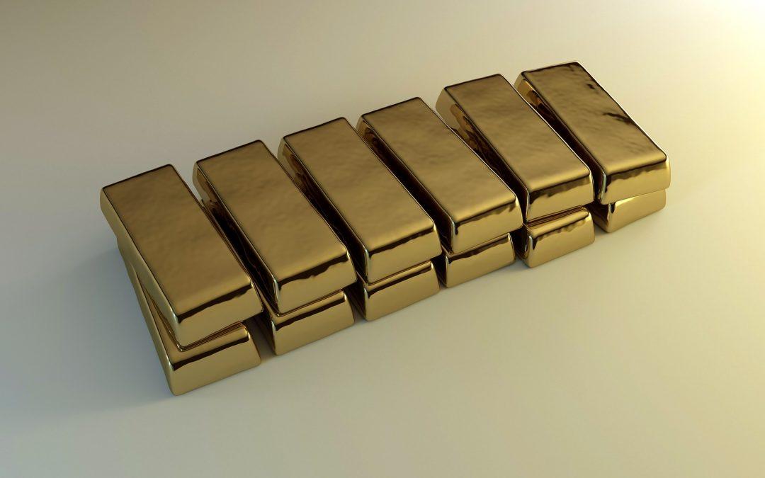 Oro en caída este miércoles y se encamina a la peor debacle mensual en cuatro años