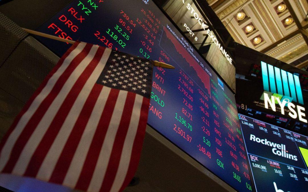 Wall Street abrió en rojo, a la espera de resultados trimestrales de empresas en EEUU