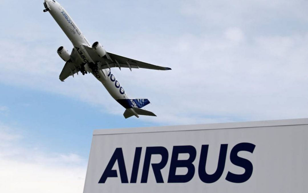 Airbus asume coste de reestructuración por € 1.200 millones