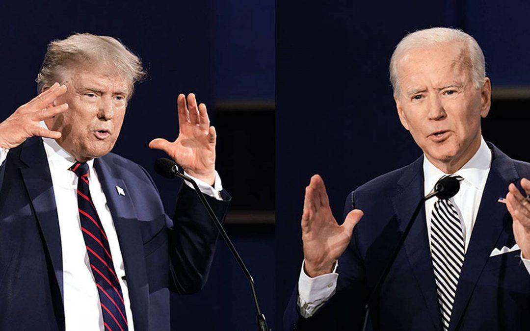Trump defiende el fracking, Biden apuesta por energía no contaminante