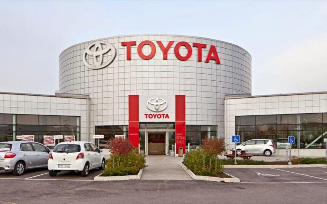 Toyota registra pérdidas de un 45,3% en el primer trimestre