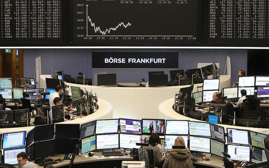 Bolsas europeas cerraron mixtas por incremento de rendimiento de deuda en EEUU