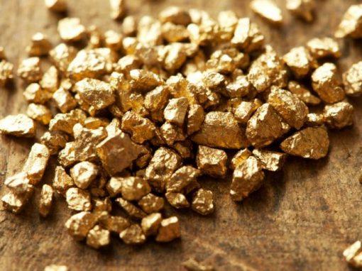 Oro opera estable acercándose a máximo de 2 semanas