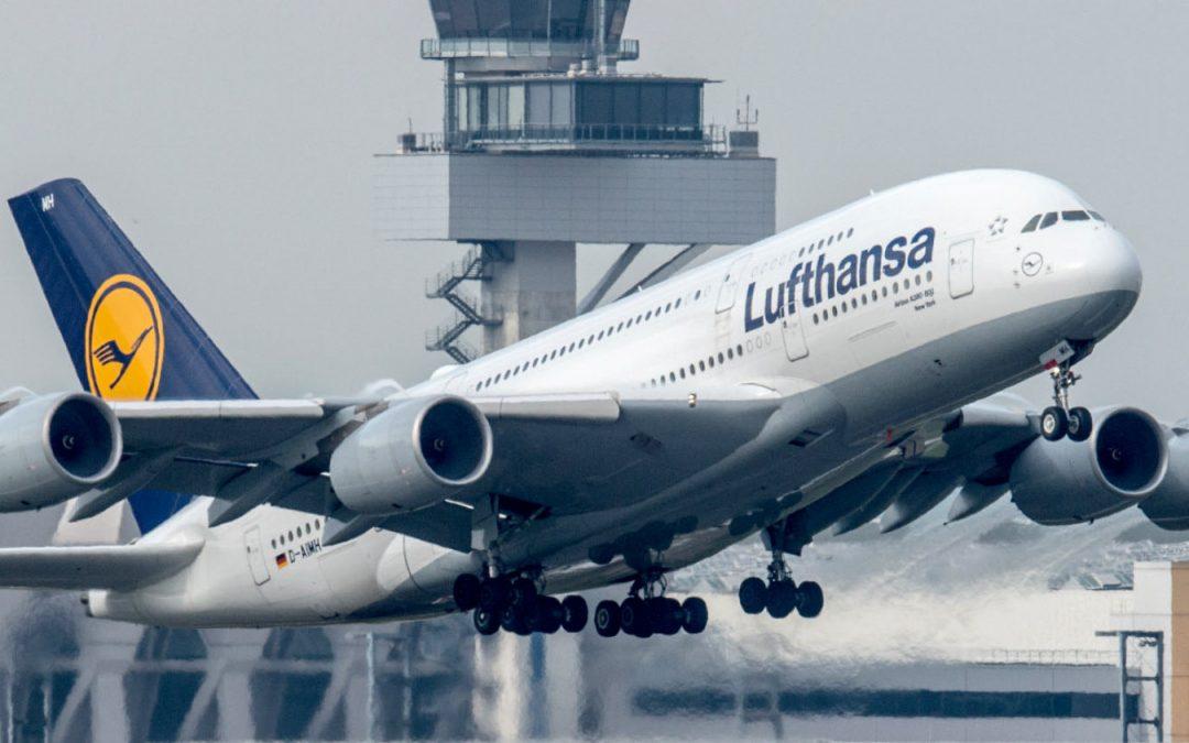 Lufthansa pierde USD 2.350 millones en tercer trimestre