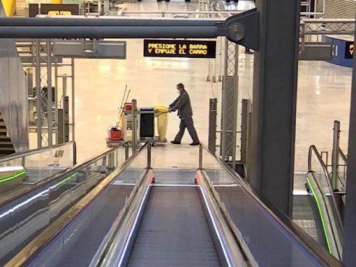 Tráfico de pasajeros en España cayó 72% en 2020
