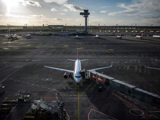 Tráfico aeroportuario en Europa retrocede hasta niveles de 1995
