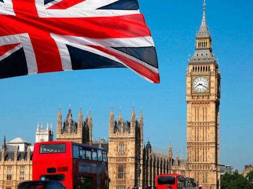 Inflación del Reino Unido alcanzó máximo de tres meses en enero