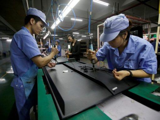 Precios industriales en China suben en enero tras un año de racha bajista