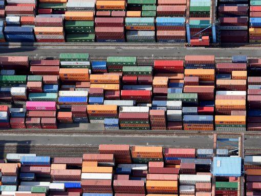 Exportaciones alemanas aumentaron en diciembre al compensar la solidez del comercio con China