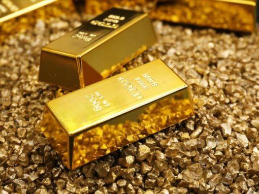 Oro cae frente remontada récord de acciones