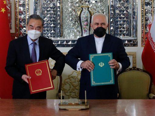 Irán y China firman acuerdo de cooperación de 25 años