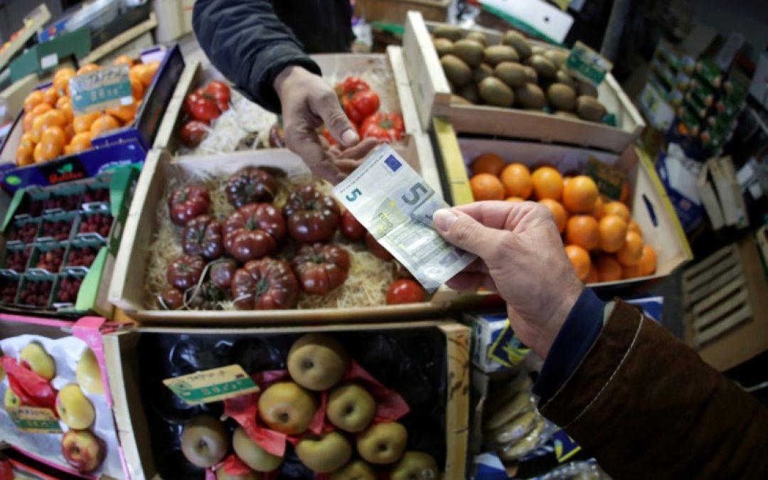 El gasto minorista de la zona euro cae más de lo previsto en enero