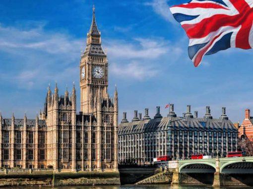 El PIB británico se contrajo un 9,8 % en 2020