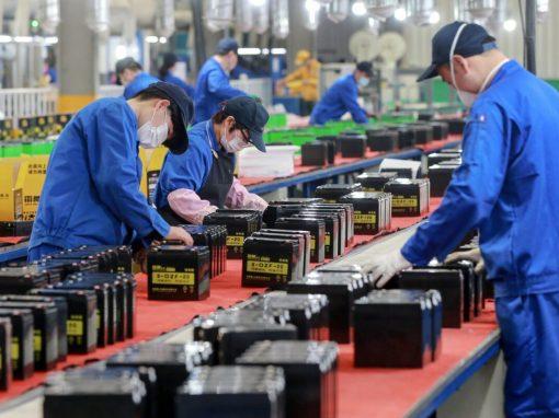 La actividad de servicios de China cae 55.1 puntos en mayo