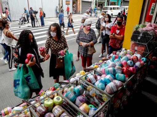 Ventas minoristas de Brasil aumentan en febrero