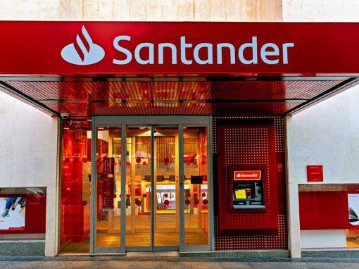 Banco Santander registró beneficios importantes en primer trimestre 2021