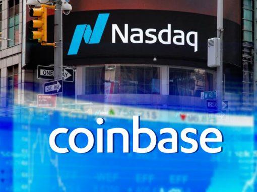 Coinbase eleva su capitalización bursátil a más de USD 100.000 millones al debutar en Nasdaq