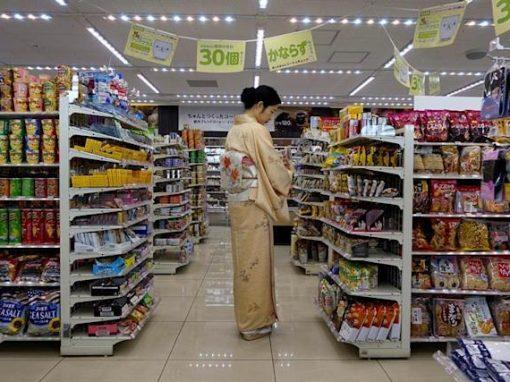 En Japón los precios de consumo cayeron en marzo por octavo mes consecutivo