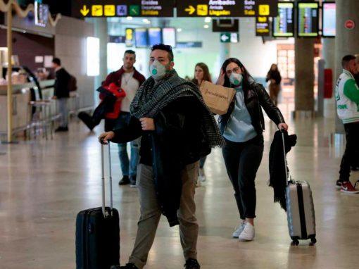 En España el tráfico en aeropuertos cae un 61% en marzo