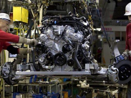 Producción industrial de Japón aumentó un 2,5% en abril