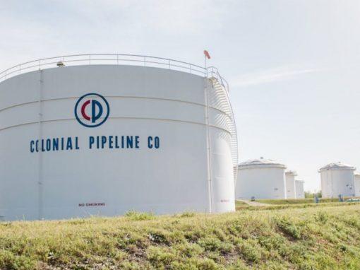 Refinerías reservan buques para almacenamiento tras la interrupción de Colonial Pipeline  oleoducto