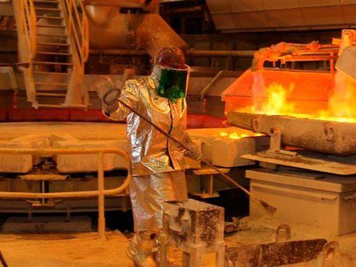 Las fundiciones de cobre en China elevaron la producción un 0,85% en abril