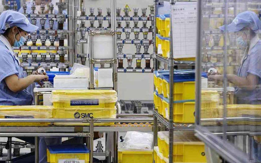 El índice de producción industrial de Colombia registró un crecimiento de 9,1% en marzo