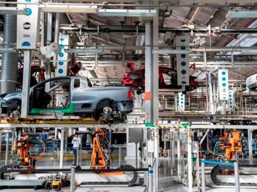 La producción industrial de la eurozona creció un 0,1% en marzo