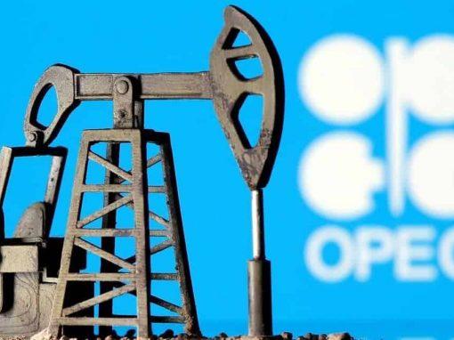 Producción de crudo OPEP toca máximo de 15 meses en julio