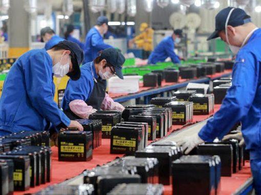 Beneficios industriales de China aumentaron un 57% en abril