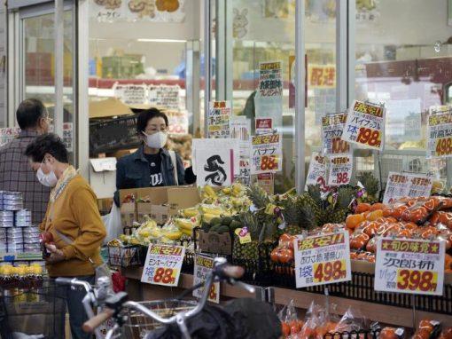 IPC en Japón subió en mayo por primera vez en 14 meses