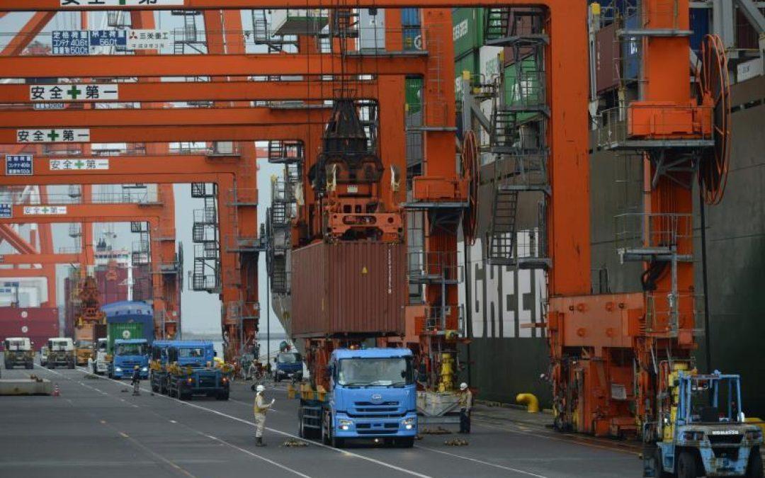 Japón registró en mayo un déficit comercial de USD 1.700 millones