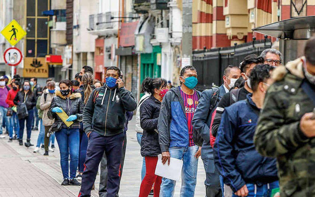 El desempleo en Colombia registró un 15,1% en abril