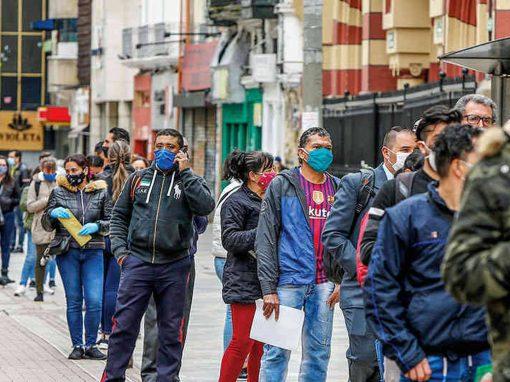 OCDE: Colombia fue el país con la tasa de desempleo más alta en abril