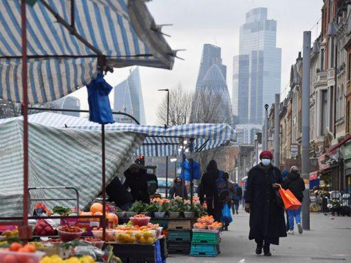La inflación en Reino Unido alcanzó un 2,1% en mayo