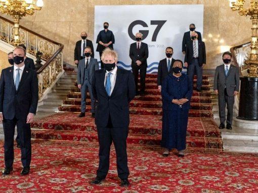 El G7 acordó la creación de un impuesto mínimo global del 15% para las empresas