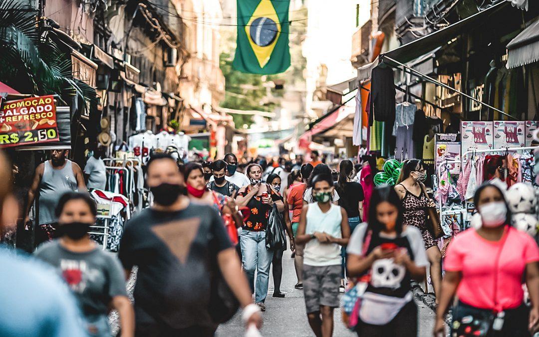 Ventas minoristas en Brasil se elevaron en julio