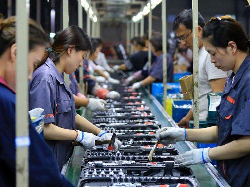 Producción industrial de China aumentó un 8,8% en mayo
