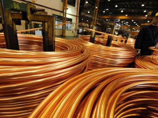 Exportaciones de cobre de China tocan máximo de 14 meses en mayo