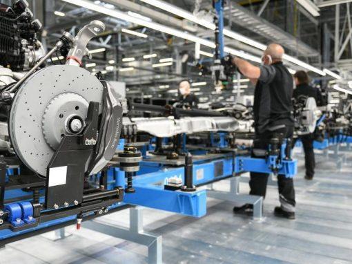 La producción industrial en la eurozona creció un 0,8% en abril