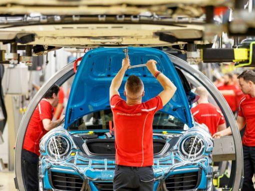 Pedidos industriales alemanes caen en abril