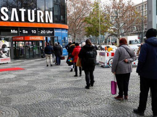 Ventas minoristas en Alemania aumentarán un 1,5% en 2021, según HDE