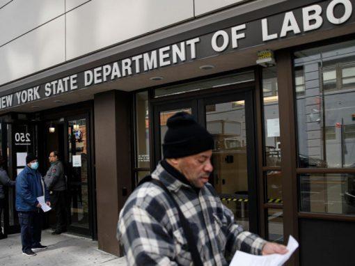 La cifra semanal de solicitudes del subsidio por desempleo EEUU continúa disminuyendo