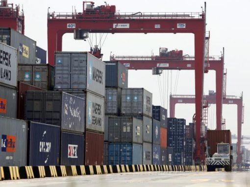 Las exportaciones chinas crecieron en agosto