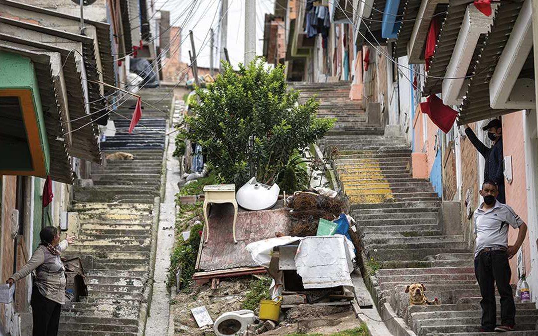 La pandemia llevó a casi medio millón de colombianos a la pobreza