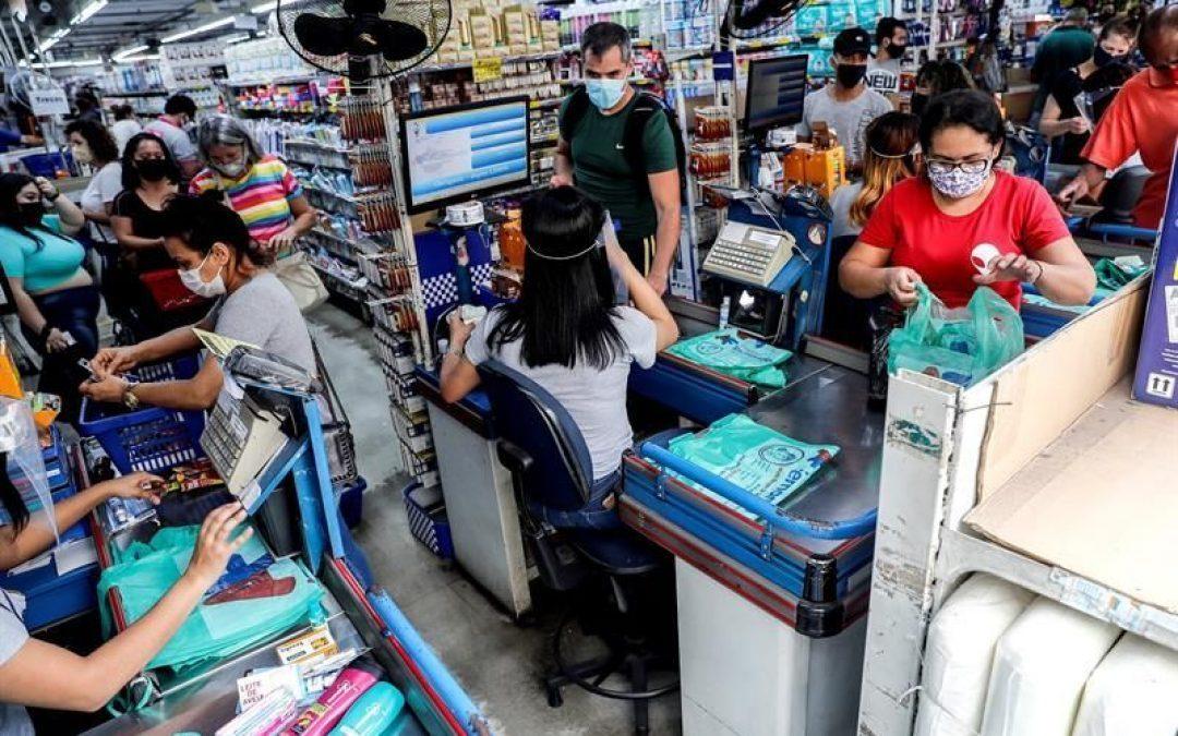 La actividad económica de Brasil logró superar nivel de pre pandemia en julio