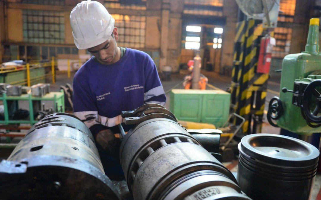 La actividad industrial argentina aumenta un 13 % interanual en julio